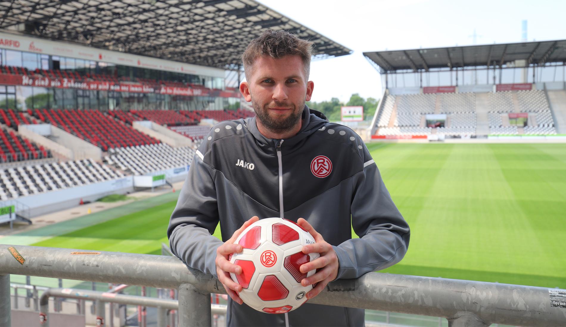 Erfahrener Keeper für die Hafenstraße: Raphael Koczor trägt ab dem kommenden Fußballjahr rot-weiss.