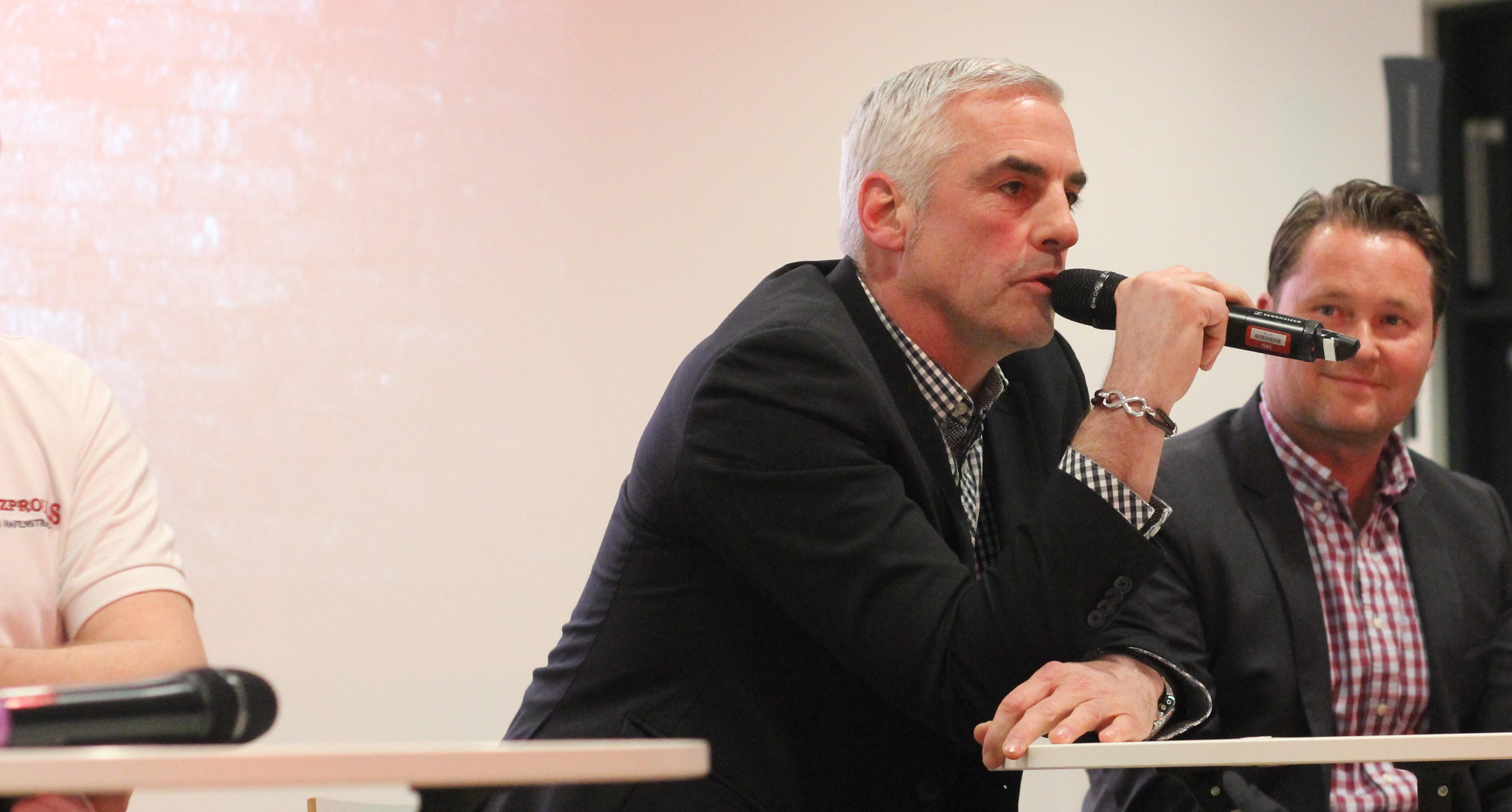 Frank Kurth (mi.) sucht Spieler für die 2. Mannschaft