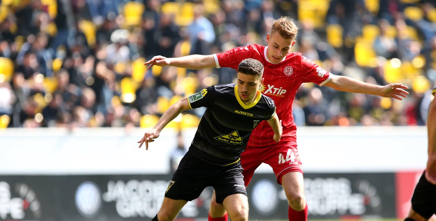 Mit 2:0 musste sich Rot-Weiss Essen am Tivoli geschlagen geben. (Foto: Endberg)