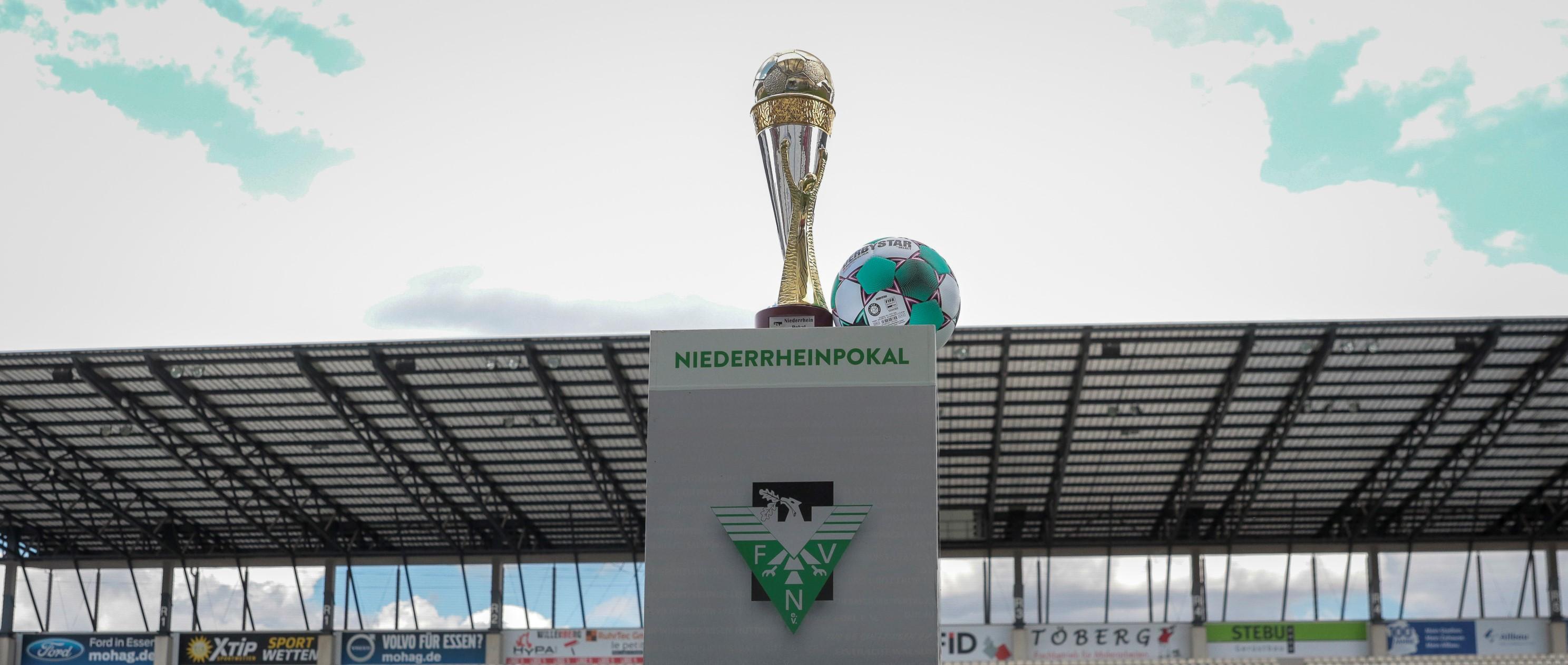 Der FVN hat die 1. Runde des Niederrheinpokals ausgelost. (Foto: Endberg)