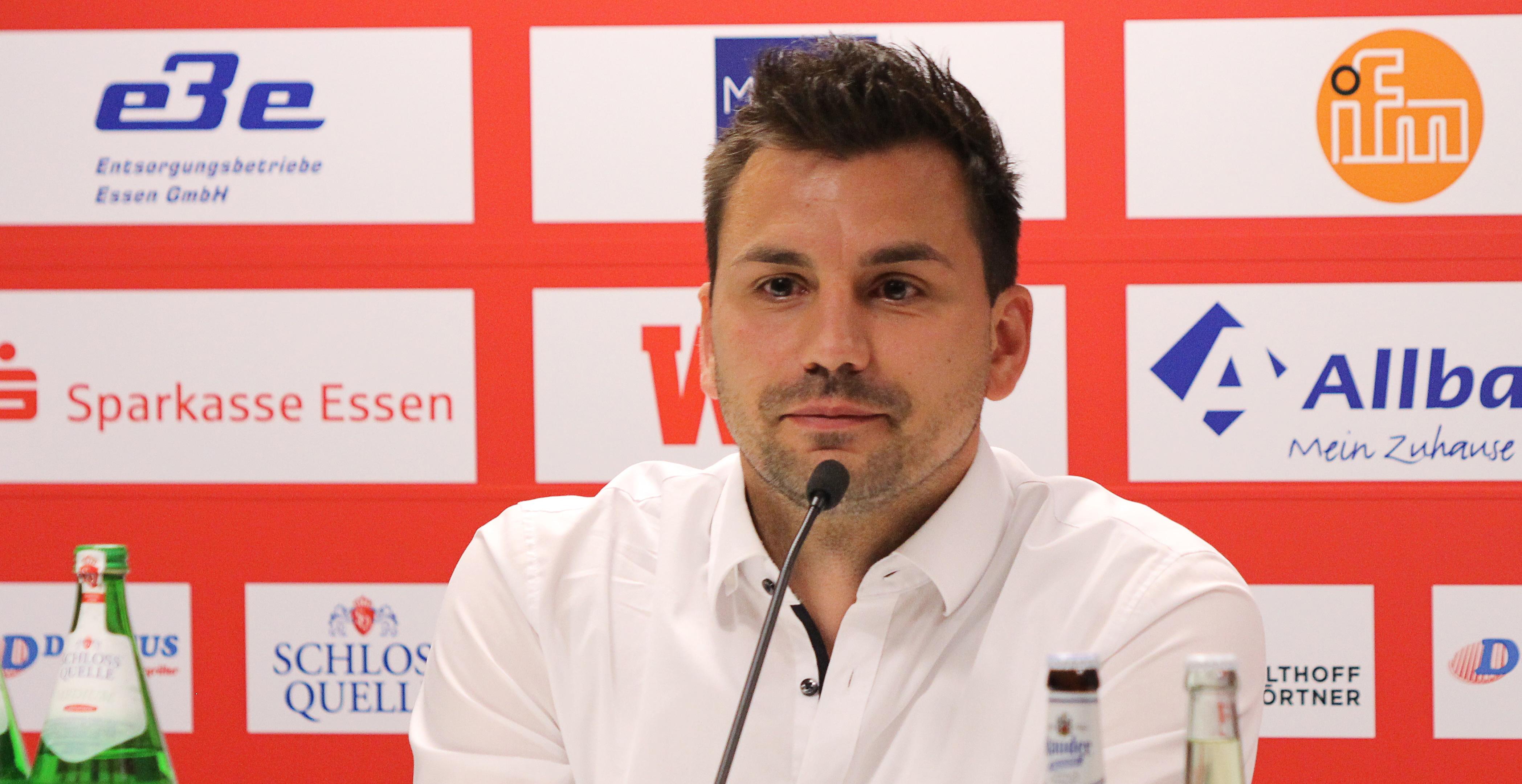 Am Freitag wurde Jörn Nowak bei Rot-Weiss Essen offiziell vorgestellt.