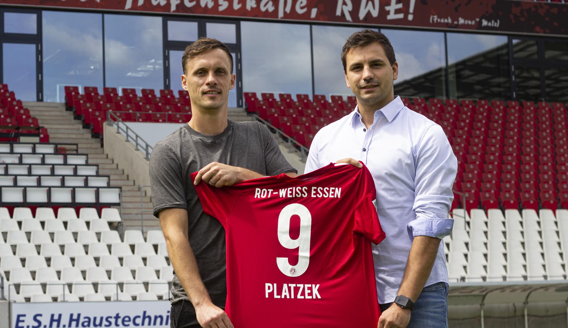 """""""Platzo"""" macht die zehnte Saison voll und bleibt somit RWE treu."""