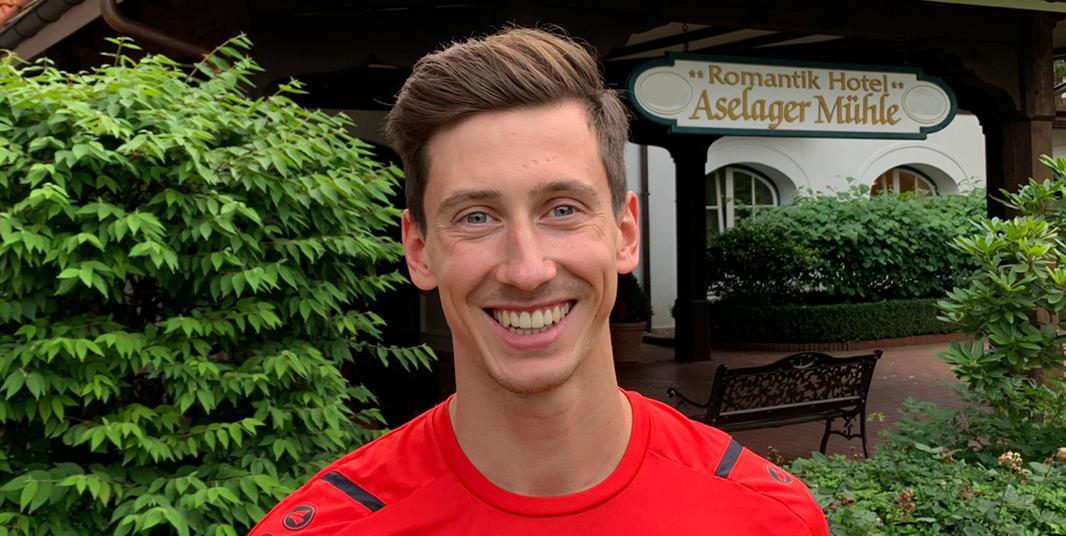 Till Schumacher stößt als Trainingsgast ins Trainingslager nach Herzlake. (Foto: RWE)