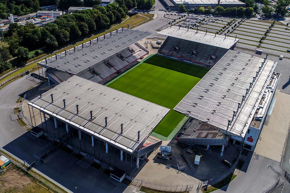 RWE erfüllt die Zulassungskriterien für die 3. Liga. (Foto: Gohl)