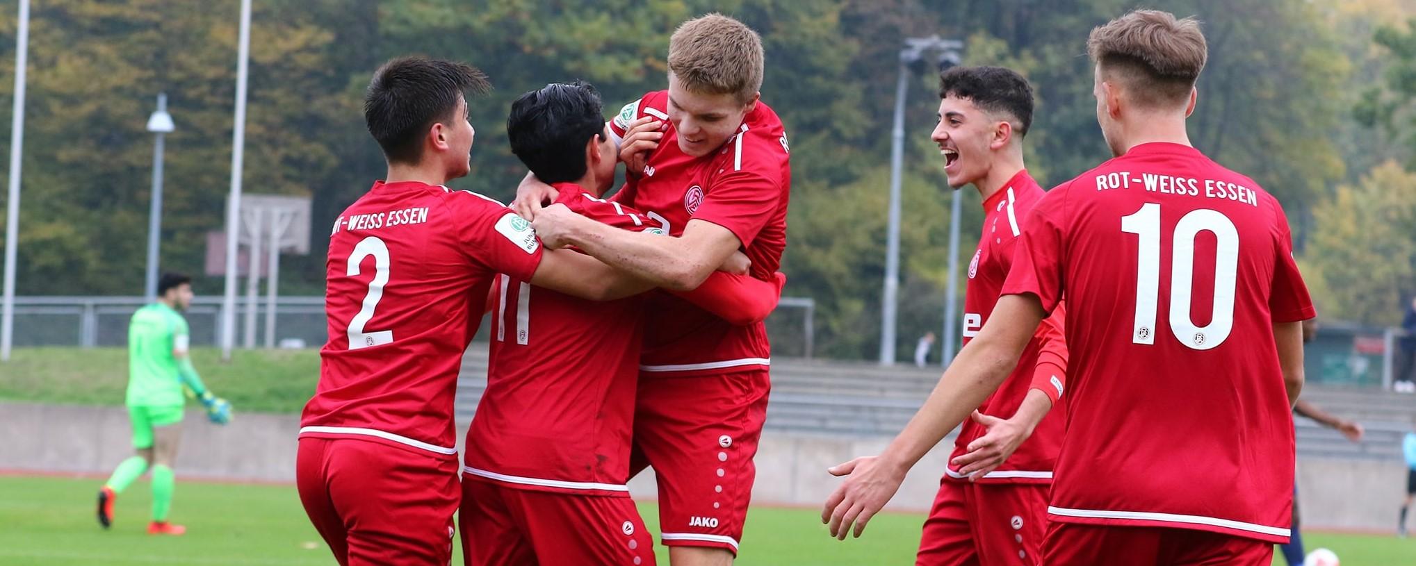 Derby-Sieg für die U19: RWE gewinnt mit 2:0 gegen Wuppertal. (Foto: Breilmannswiese)