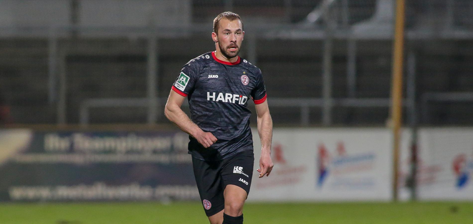 Felix Weber wird Rot-Weiss Essen verlassen. (Foto: Endberg)