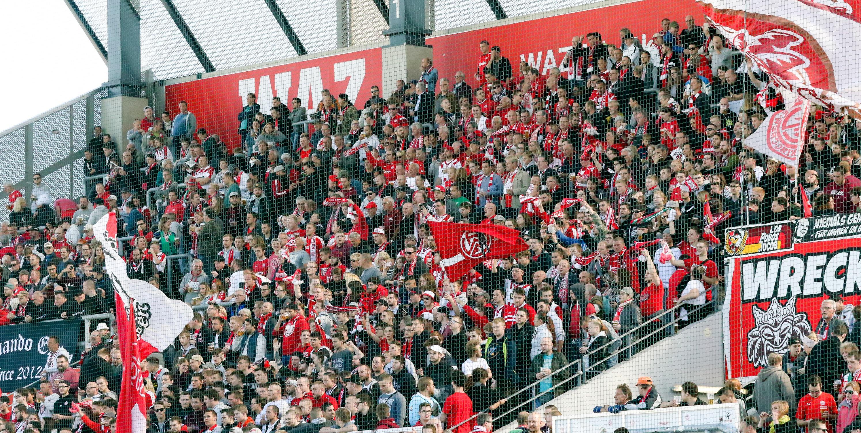 Am Samstag empfängt RWE die U23 von Borussia Mönchengladbach an der Hafenstraße. (Foto: Endberg)