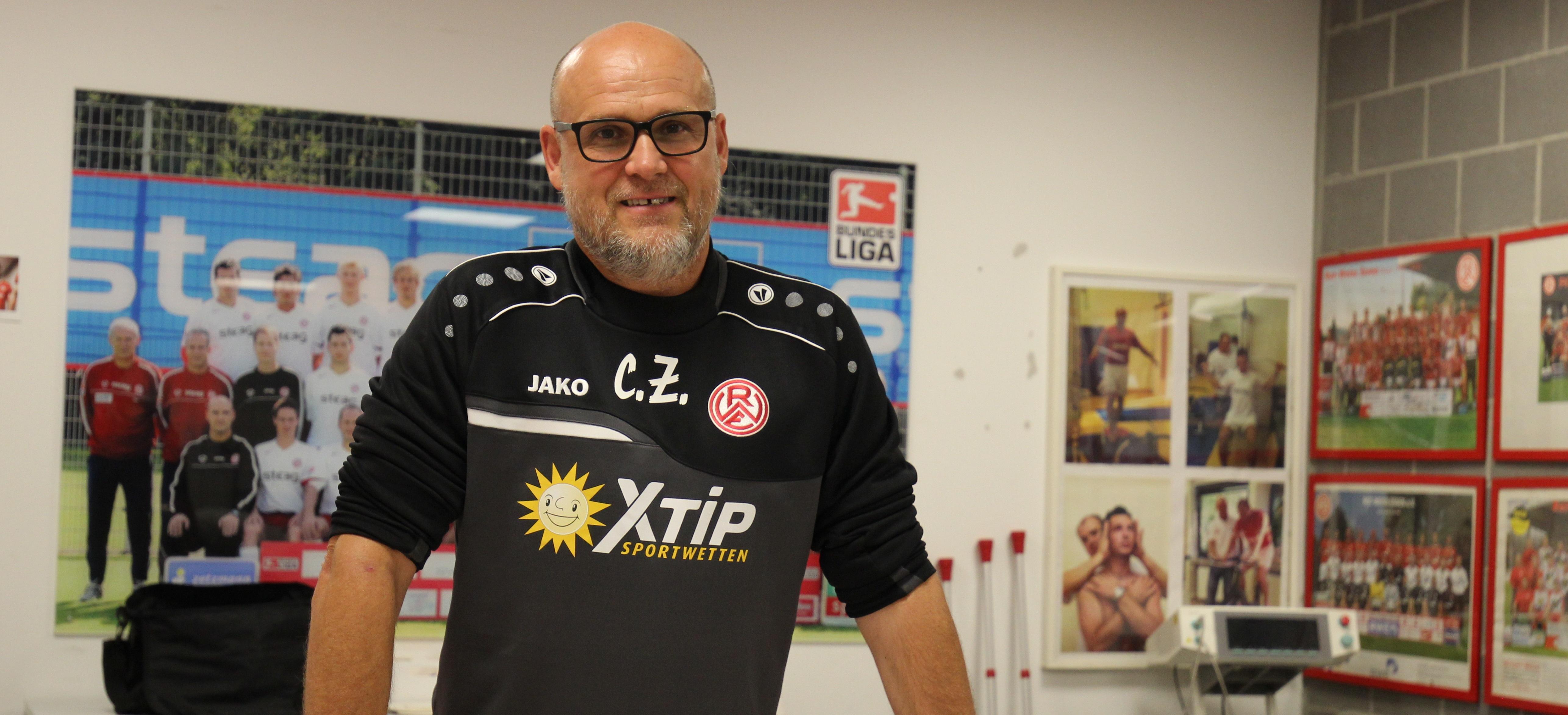 Rot-Weiss Essen arbeitet auch künftig mit der Physiotherapie Zetzmann und Christian Zetzmann (Foto) zusammen.