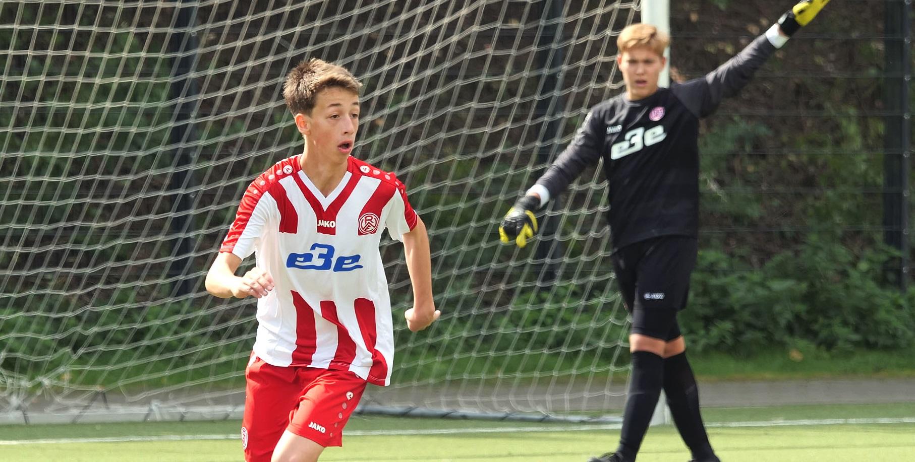 Die U15 trennte sich torlos von Arminia Bielefeld. U11 und U14 waren in ihren Spielen siegreich.