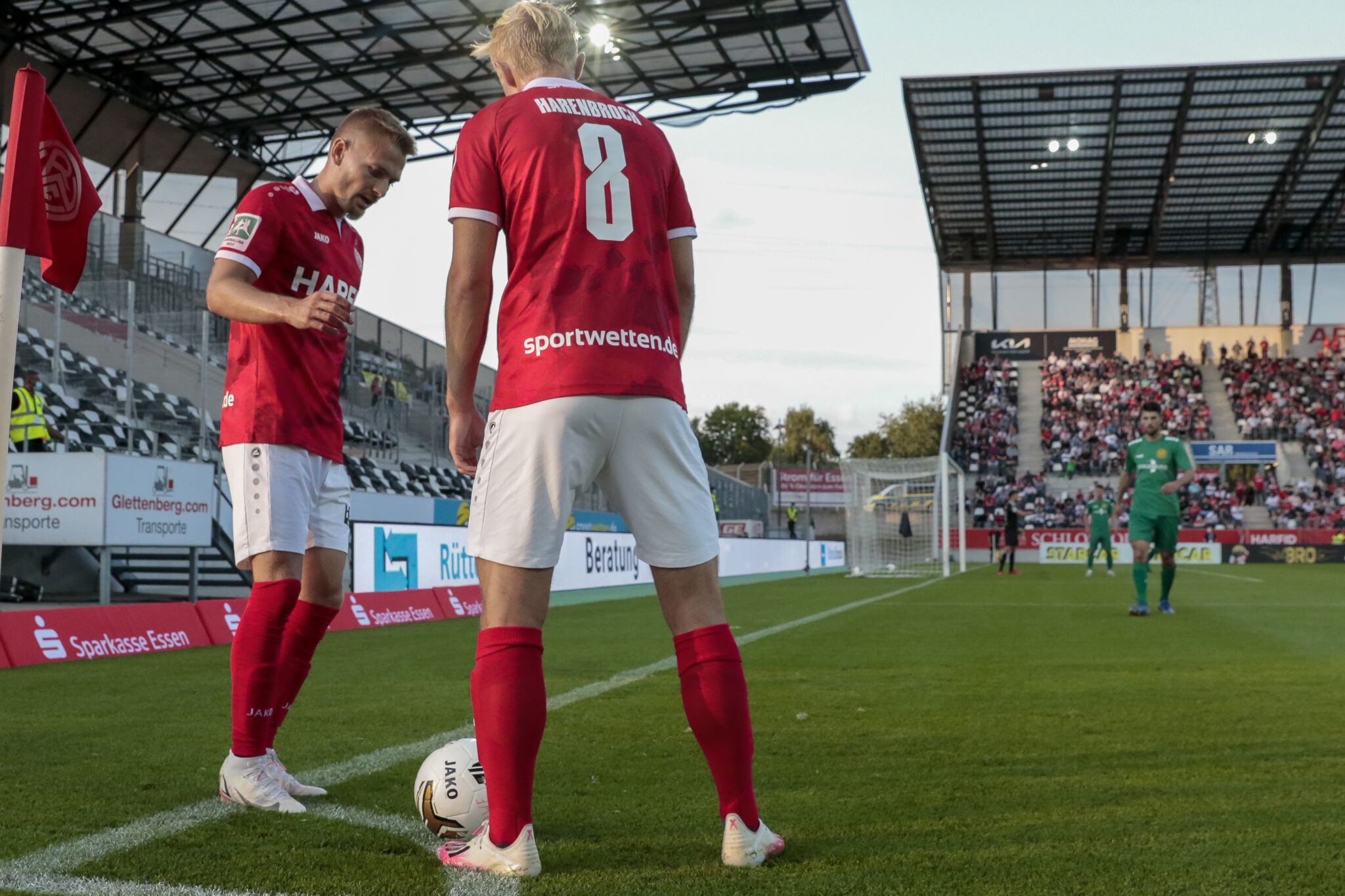 Luca Dürholtz: Angekommen? – Rot-Weiss Essen
