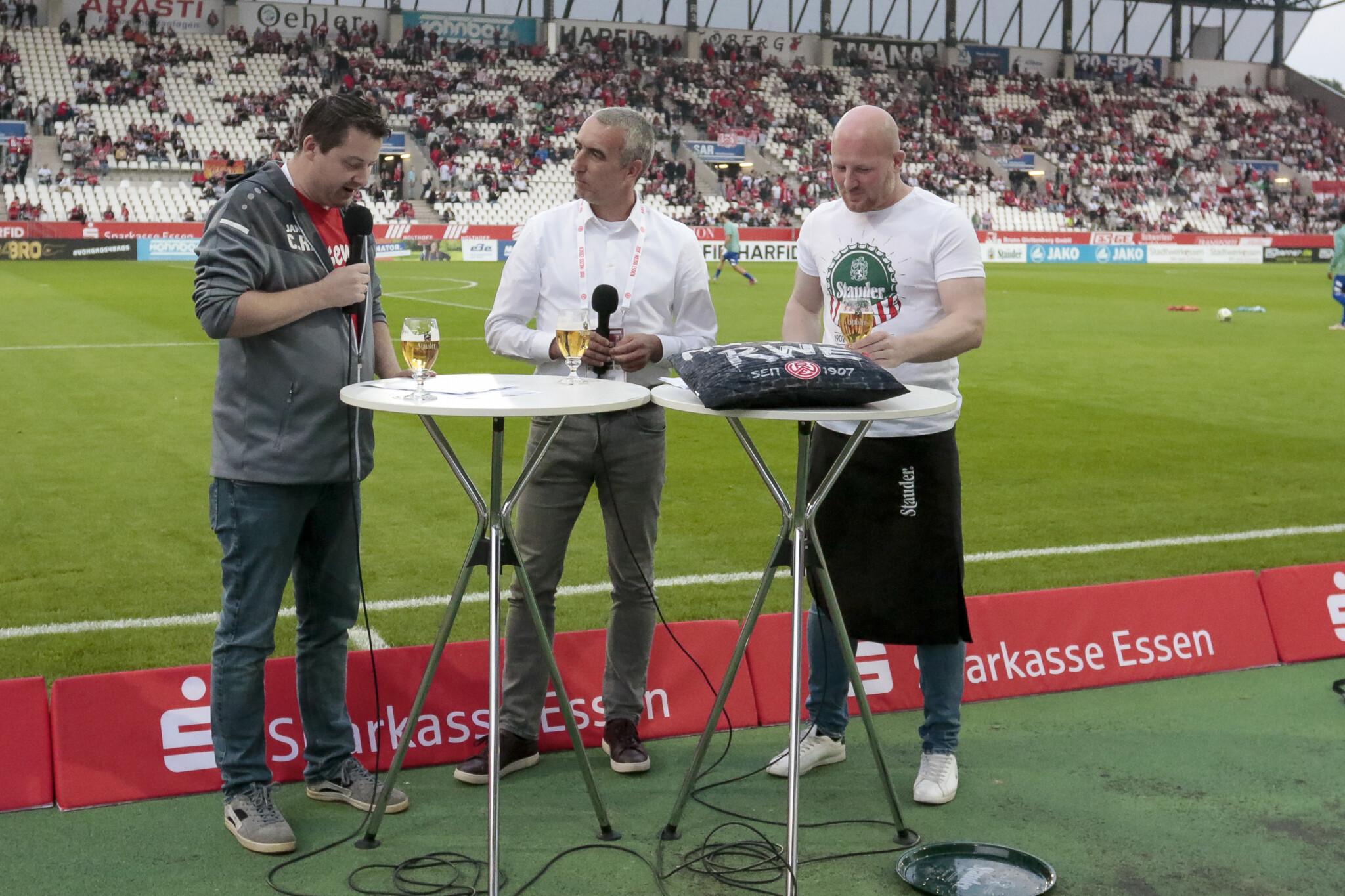 RWE-Livestream geht weiter auf Sendung – Rot-Weiss Essen
