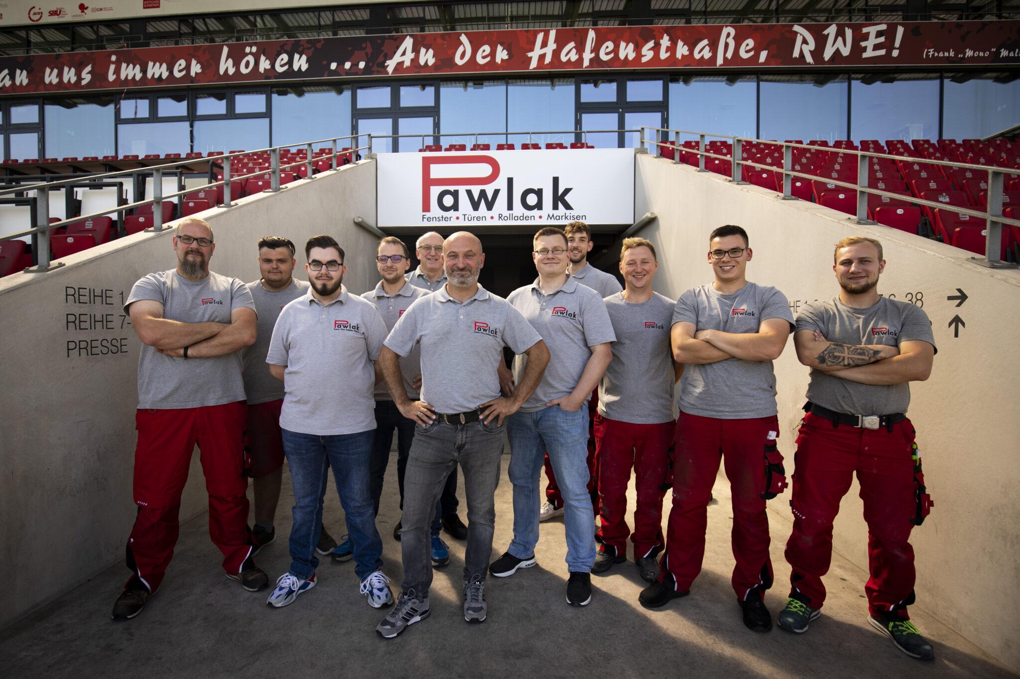 RWE baut auf Rolladen Pawlak – Rot-Weiss Essen