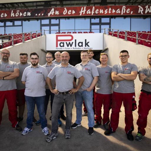RWE baut auf Rolladen Pawlak