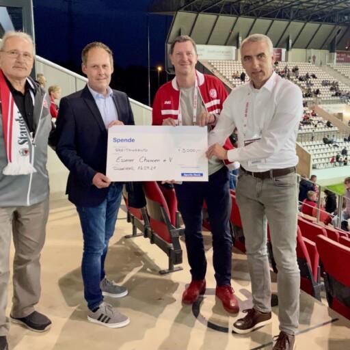 Sparda-Bank West spendet 3.000 Euro für den Lernort