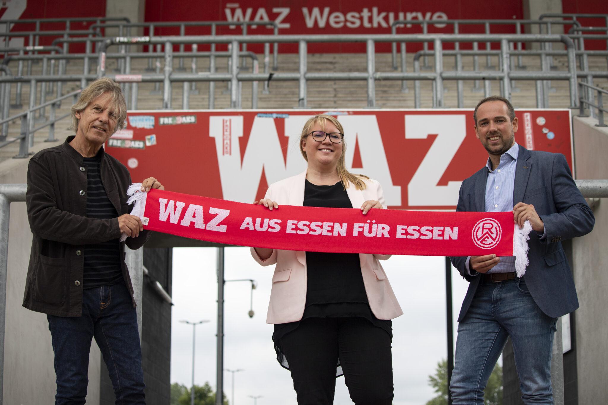 Rot-Weiss und die WAZ: Kooperation bis 2023 verlängert – Rot-Weiss Essen