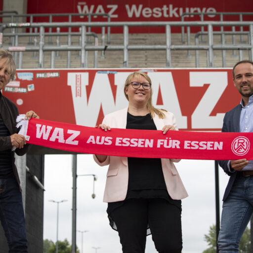 Rot-Weiss und die WAZ: Kooperation bis 2023 verlängert