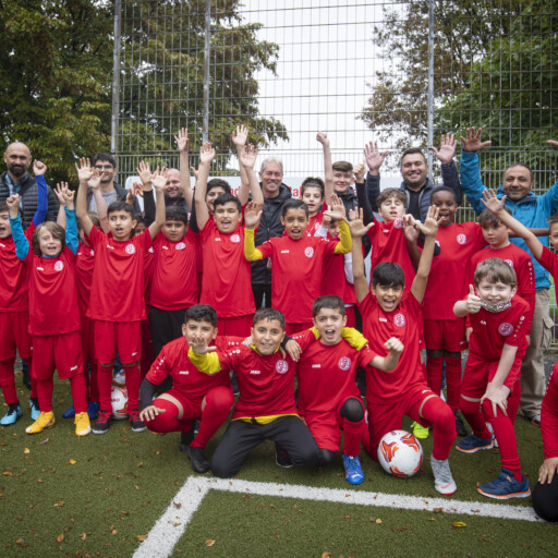 Fußballcamp an der Seumannstraße